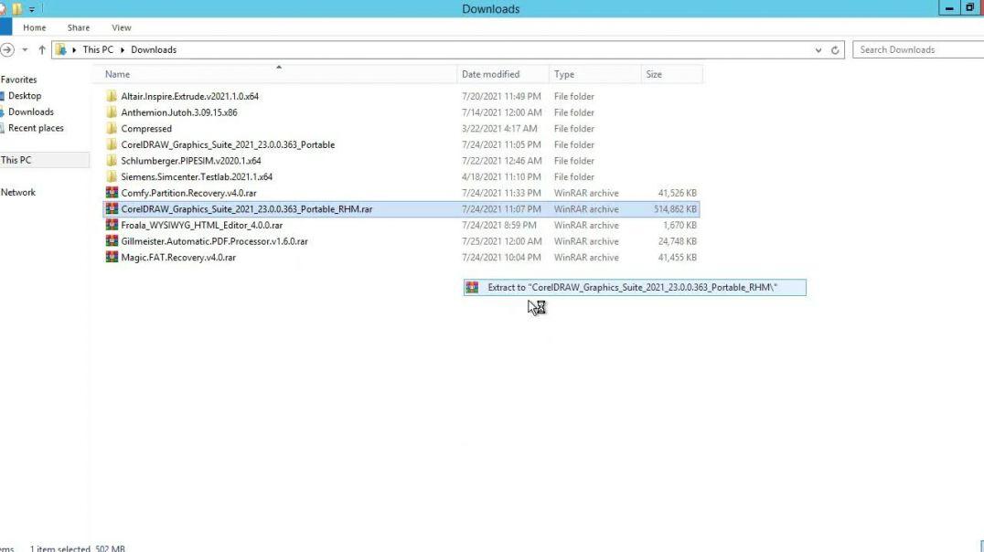 How to install coreldraw graphics suite 2021 Offline Installer