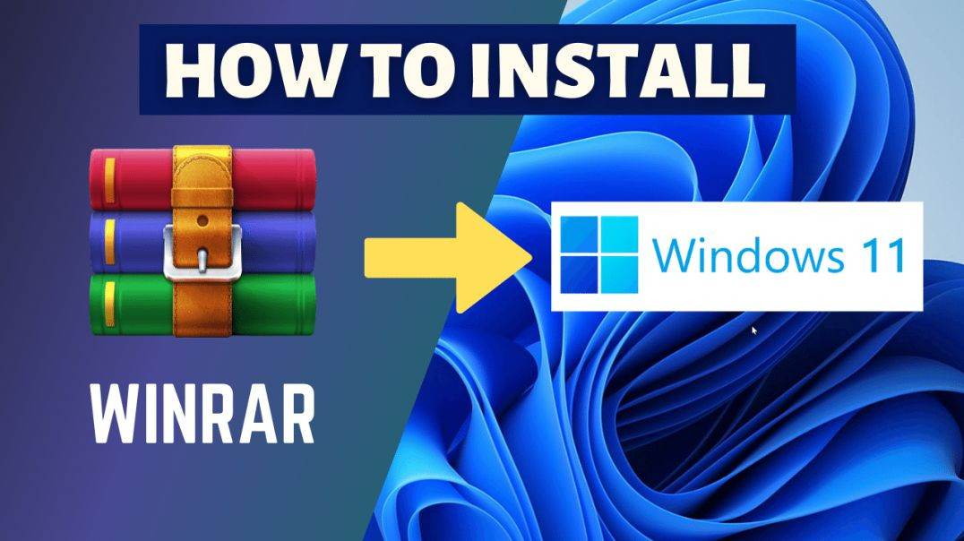 How to Install Winrar 6 64-bit and 32-bit 2022 Update