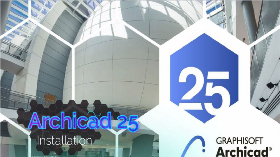 How To Install ArchiCad 25 full Version/Crack