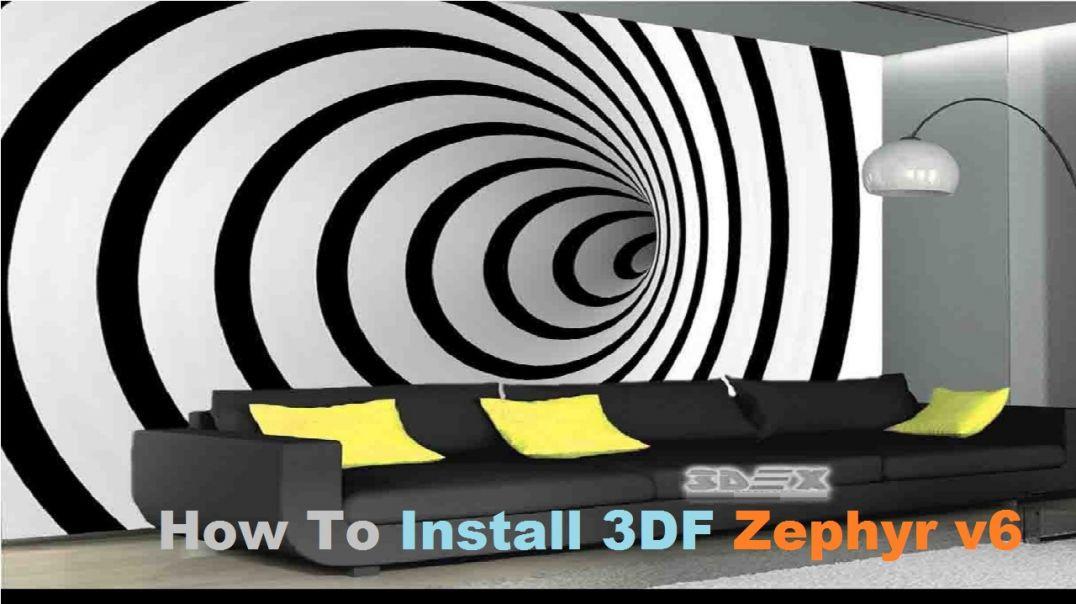 How To Install 3DF Zephyr v6.005 x64